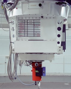 William Herschel Telescope computer controlled corrector for atmospheric distortion, La Palma